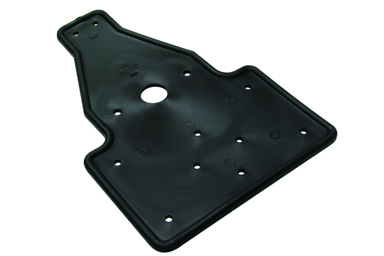 Tail Light Rubber Plate