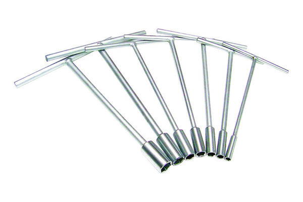 T-Handle Set, 7 Pc Metric