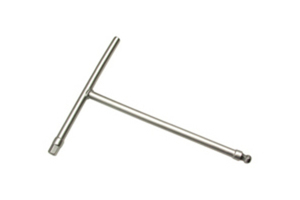 T-Handle, Ball-End Hex, Dual Drive, 8mm