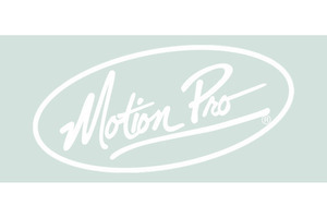 "Decal, 9"" Motion Pro Die Cut, White"