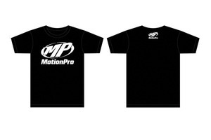 "T-Shirt, ""MP"" Logo, Black, Large"