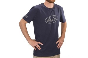 "T-Shirt, ""MP Oval"", Navy, Large"