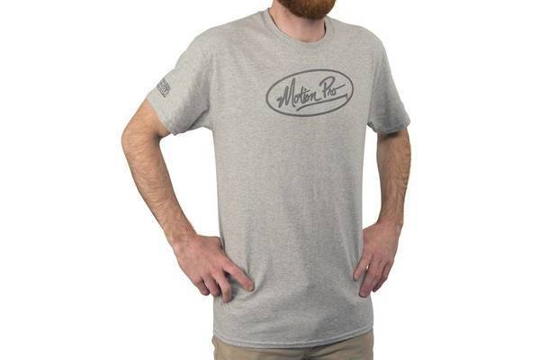 MP Crew Tee, Grey, Large