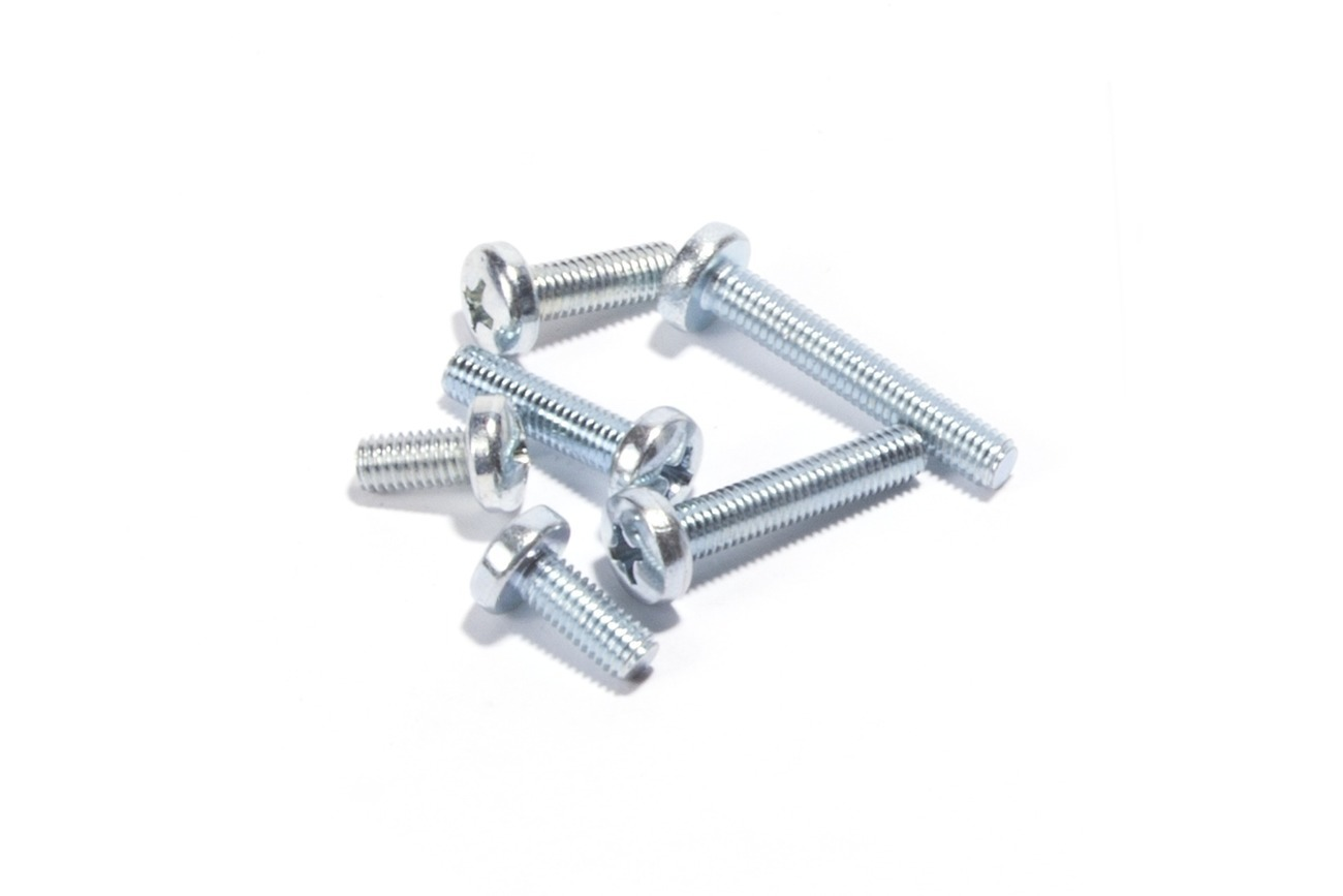 Screw Pan M5XP0.8X10, Pk-10