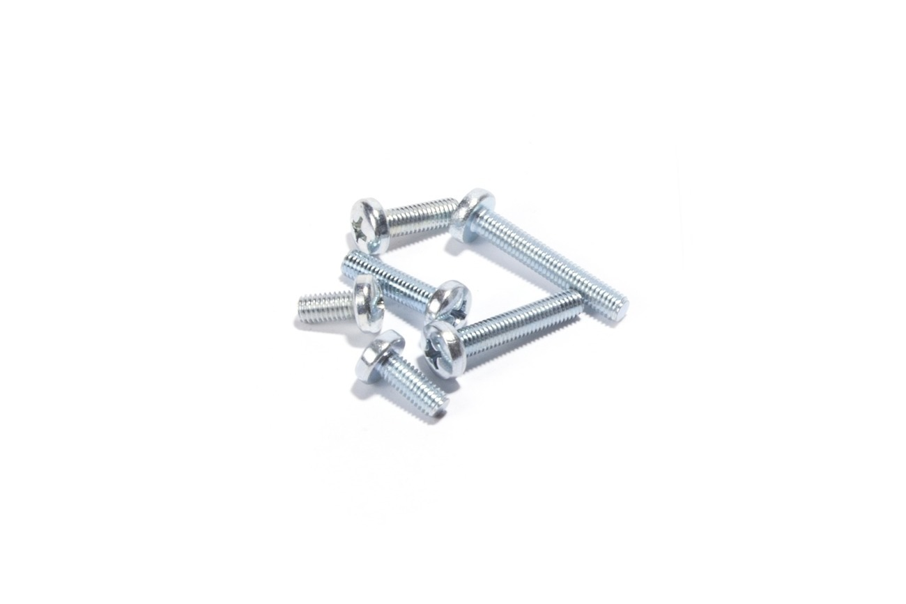 Screw Pan M5XP0.8X30, Pk-10