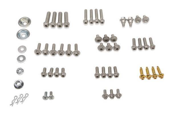 Hardware Kit, Metric Euro 54 Piece Set