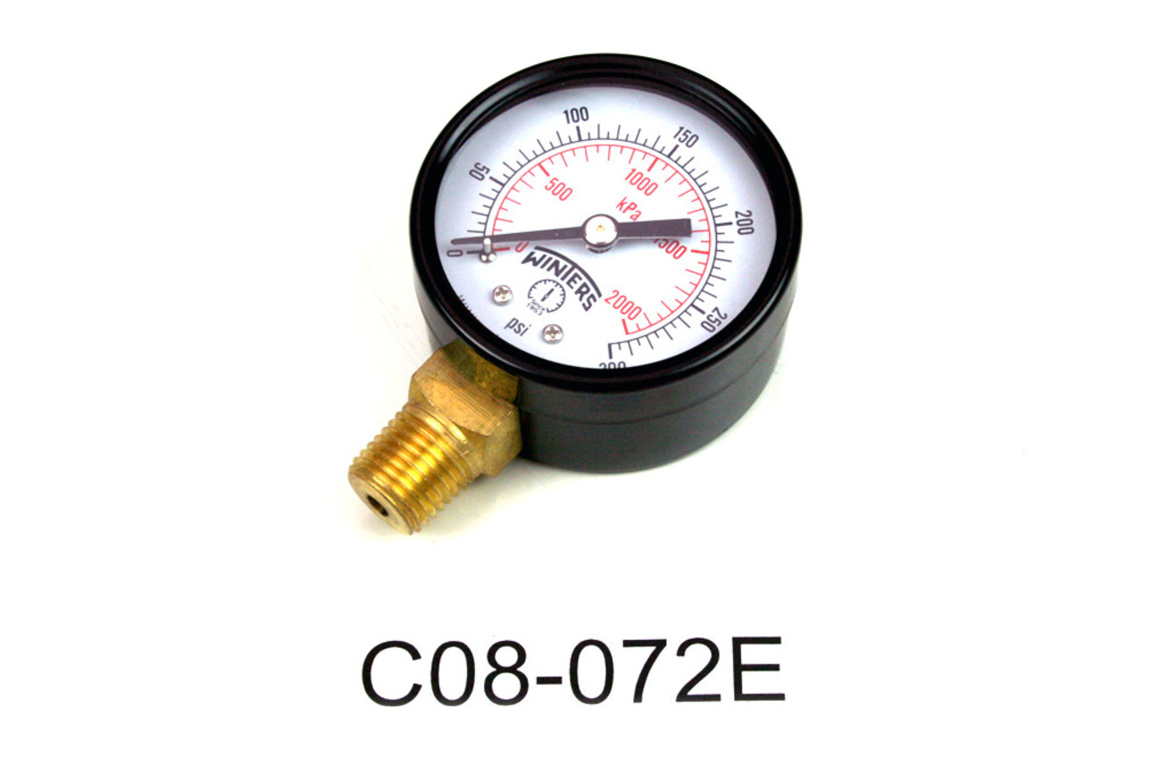 Replacement Gauge 0-300 Psi, for 08-0072 and 08-0188